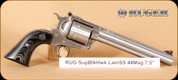 Ruger - Super Blackhawk - 44Mag - Hunter, Laminate SS, 7.5""
