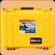 Pelican - 1450 - Hard Case - Pick 'N' Pluck Foam - Yellow