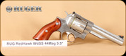 Ruger - RedHawk - 44Mag - Lam/SS, 5.5""