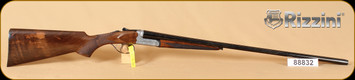 """Rizzini - BR550 small - 28Ga/2.75""""/28"""" - coin finish, scroll engraving, English style grip and forend"""