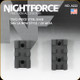 NightForce - XTRM - Base - Sav LA New Style - 2pc - 20 MOA (6-48 Screws) - A222