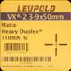 Leupold - VX-2 - 3-9x50mm - Matte - Heavy Duplex