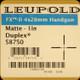 Leupold - FX-II Handgun - 4x28mm - Matte - Duplex