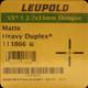 Leupold - VX-1 Shotgun/Muzzleloader - 2-7x33mm - Matte - Heavy Duplex