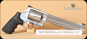 """S&W - Model 500 - 500S&WMag - BlkSyn SS, 8.4"""""""