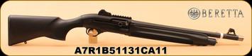 """Beretta - 12Ga/3""""/18.5"""" - 1301 - Tactical, Blk Composite"""