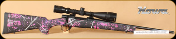 """Howa - Game King Package - 243Win - Hogue Muddy Girl Bl, 20"""", Nikko Stirling 4-16x44 Side LRX"""
