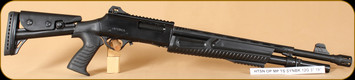 "Hatsan - Optima - 12Ga/3""/19"" - MP-TS, BlkSyn, security and law enforcement, fixed cyllinder choke"
