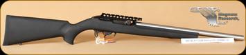 """Magnum Research - MLR 17/22M - 22WMR - Stainless Barrel, Hogue, 18"""""""