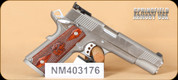 """Springfield - 1911 - 45ACP - Trophy Match, Wd/SS, 5"""", 2 mags, Blt Hlster, Dbl Mag pouch"""