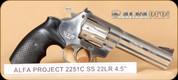 """Alfa Project - Mod 2251 - 22LR - SS, 4.5"""""""