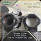 Weaver - Tactical - 30 mm Low - 6 hole rings - Blk Matte