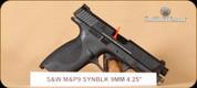 "S&W - M&P9 - 9mm - Black, 4.25"""