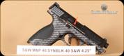 """S&W - M&P40 - 40S&W - Carbon Fiber, 4.25"""""""