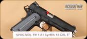 """Springfield - 1911 - 45ACP - TRP, G10 grips/ Armory Kote, 5"""""""