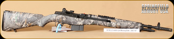 """Springfield - M1A SFAA 9124 - 308Win - Scout Squad, Mossy Oak/Parkerized, 2 stage military trigger, 18"""" restricted"""