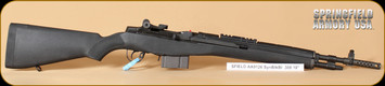 """Springfield - M1A SFAA 9126 - 308Win - Scout Squad, BlkSyn/Parkerized, 2 stage military trigger, 18"""", restricted"""