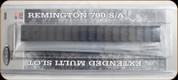 Weaver - Tactical - Remington 700 Short Action - 0 MOA - Extended Multi Slot Base