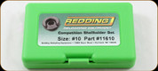 Redding - Competition Shellholder Set - Size #10
