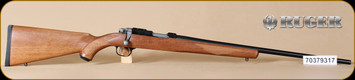 "Ruger - 17HMR - 77/17 - Checkered Walnut, Blued, 22"" - h"