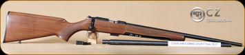 "CZ - 455 - 17HMR/22LR - American - includes both 17hmr and 22lr barrel sets, Wd/Bl, 20.5"""
