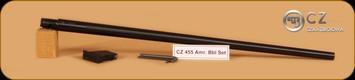 "CZ - 455 - 22LR - American Barrel Set, 22LR barrel (20.5""), 5 rd mag, tool kit"