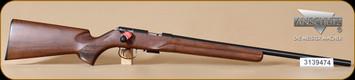 "Anschutz - 1517 D HB - 17HMR - Item 009956, Walnut Classic Beavertail, 23"""