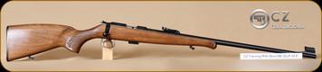 "CZ - 455 - 22LR - Training Rifle, beechwood/Bl, 24.8"""