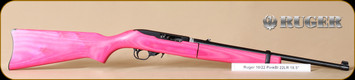 Ruger - 10/22 - 22LR - Takedown, PinkLam/Bl, threaded brl, 16.5""