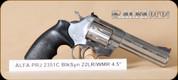 "Alfa Proj - Mod 2351 - 22LR/22WMR - BlkSynSS, 4.5"""