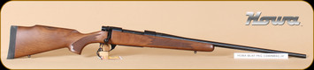 "Howa - 1500 - 338WinMag - Hunter, American Walnut, 24"", 3.5-10x44 LRX GameKing illuminated"