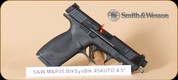 S&W - M&P45 - 45ACP - BlackSyn, 2 barrel set (additional threaded barrel), 2 mags, 4.5