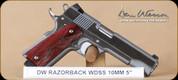 """Dan Wesson - RZ-10 - 10mm - Razorback, WdSS, 5"""""""