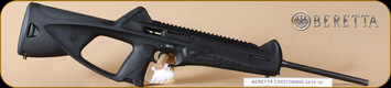 """Beretta - CX4 Storm - 9mm - BlkSyn, non-restricted Canadian version, 19"""""""