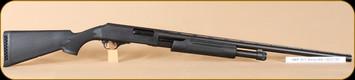 "Harrington & Richardson - Pardner Pump - 12Ga/3""/28"" - BlkSyn/MatteBlk, bead sight, screw-in modified"