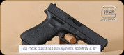 """Glock - G22 - 40S&W - Gen3, BlkSyn, 4.4"""", fixed sights, 2 mags, restricted"""