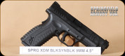 "Springfield - XDM - 9mm - BlkSyn, Threaded Barrel, 2 mags, 4.5"""