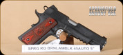 """Springfield - Range Officer Operator - 45ACP - Wd/Bl, 2 mags, mag holster, 5"""""""