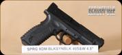 "Springfield - XDM - 40S&W - BlkSyn, 2 mags, 4.5"""