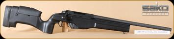 """Sako - TRG-22 - 260Rem - Stealth Black stock, Phosphate action and barrel, 8""""twist, muzzle brake, 20"""""""