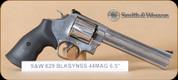 "S&W - Model 629 - 44RemMag - Classic - BlkSYnSS, 6.5"""