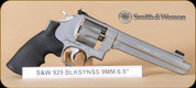 S&W - Model 929 - 9mm - BlkSynSS, Jerry Miculek Edition, 6.5""