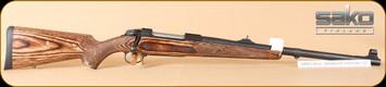 "Sako - 85 - 450Rigby - Brown Bear JRSA576, BrnLam, two crossbolts, bull barrel, 22"""