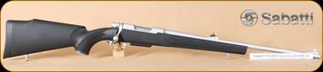 """Sabatti - Rover 870 - 223Rem - BlkSyn/INOX, adj. sight, 22"""""""