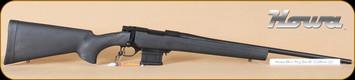 "Howa - Mini Action - 222Rem - BlkSyn/Bl, 22"", Panamax 3-9x40 half mil-dot, Leupold mounts"
