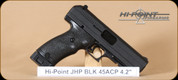 Hi-Point - JHP 45 - 45ACP - BlkSynBl, 4.5""