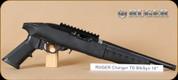 "Ruger - 22 Charger TD - 22LR - BlkSynBl, 10"" threaded brl, includes bipod"