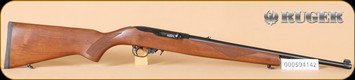 "Ruger - 10/22 - 22LR - Deluxe Sporter Carbine, checkered walnut/blued, 18.5"" - d"