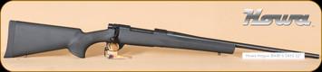 "Howa - Hogue - 6.5x55SE - BlkSYn/Bl, 22"", Nikko Stirling Panamax 3-9x40 half mil-dot"