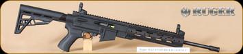 """Ruger - 10/22 - 22LR - ATI AR-22, BlkSyn/Bl, 16.1"""""""